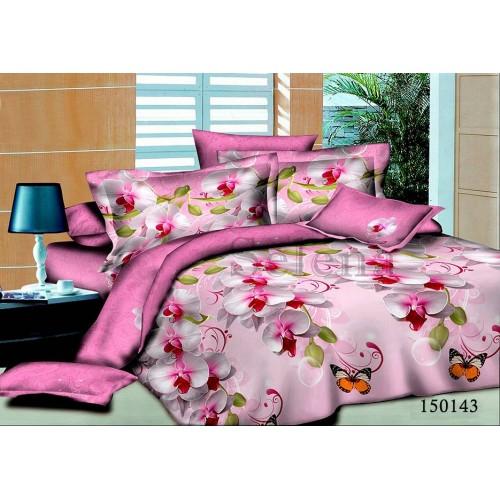 """Комплект постельного белья """"Орхидея розовая"""" семейный 150143-050"""