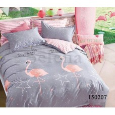 """Комплект постельного белья """"Звездный фламинго"""" полуторный 150207-010"""