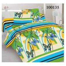 """Комплект постельного белья """"Бабочки"""" двуспальный 100135-020"""