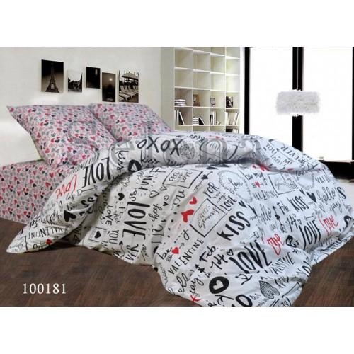 """Комплект постельного белья """"Kiss"""" двуспальный 100181-020"""
