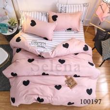 """Комплект постельного белья """"Купидончик розовый"""" двуспальный 100197-020"""