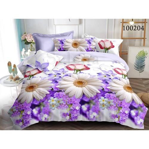 """Комплект постельного белья """"Летний букет 2"""" евростандарт 100204-030"""
