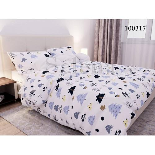 """Комплект постельного белья """"Лесной коллаж"""" евростандартный 100317-030"""