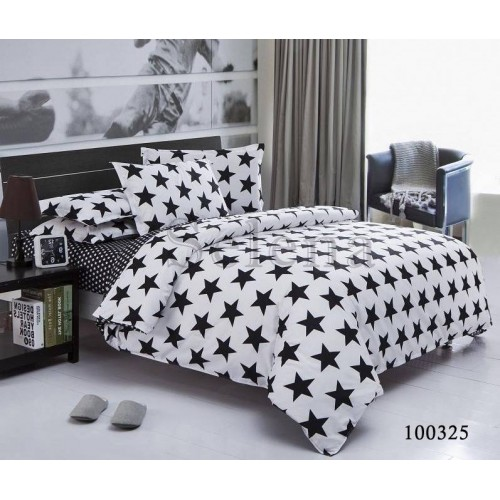 """Комплект постельного белья """"Звёздный бум"""" двуспальный 100325-020"""