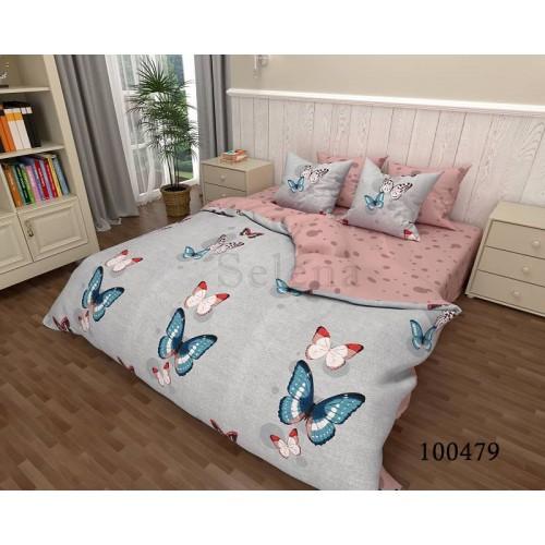 """Комплект постельного белья """"Бабочки 2"""" двуспальный 100479-020"""