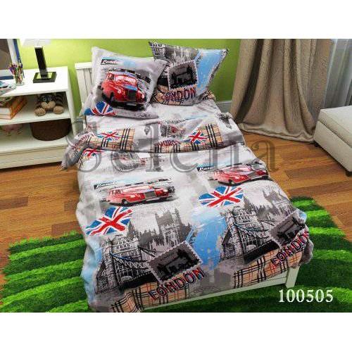"""Комплект постельного белья """"Лондон 2"""" семейный 100505-050"""