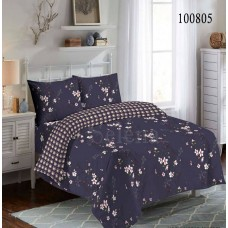 """Комплект постельного белья """"Вечерние цветы"""" двуспальный 100805-020"""