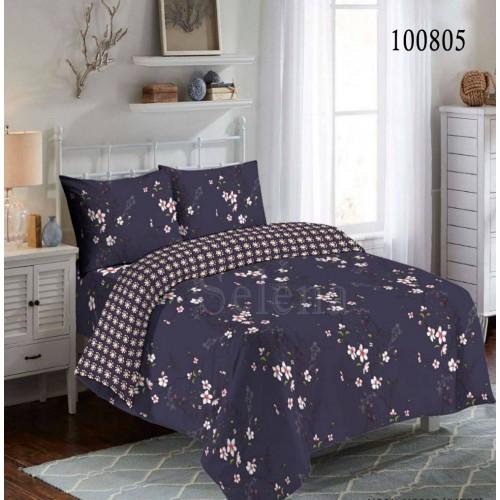 """Комплект постельного белья """"Вечерние цветы"""" евростандарт 100805-030"""