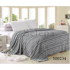 Плед Косичка Gray 500234