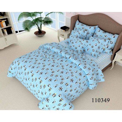 """Комплект постельного белья """"Пандочки"""" подростковый 110349-040"""