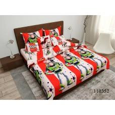 """Комплект постельного белья """"Игрушки"""" подростковый 110352-040"""