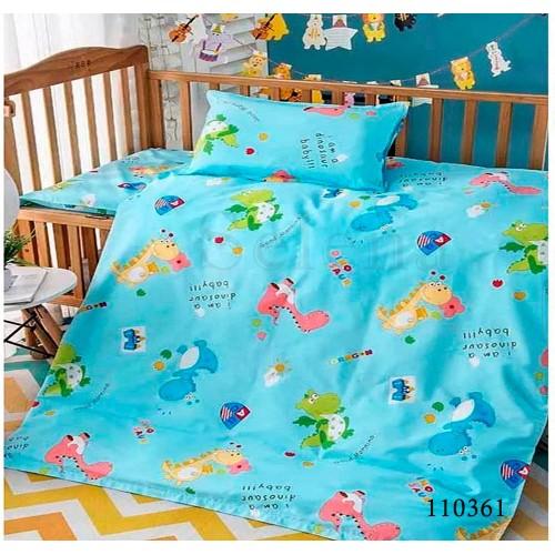 """Комплект постельного белья """"Дракоша Blue"""" подростковый 110361-040"""