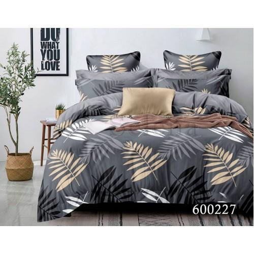 """Комплект постельного белья """"Листья """" евростандарт 600227-030"""