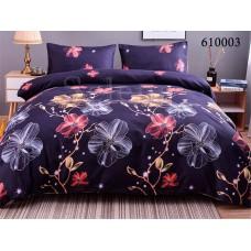 """Комплект постельного белья """"Ночные цветы 2"""" полуторный 610003-010"""