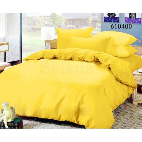"""Комплект постельного белья """"Желтый"""" евростандарт 610400-030"""