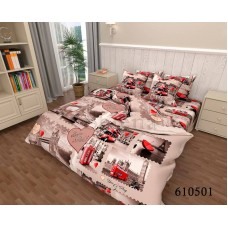 """Комплект постельного белья """" Лондон"""" семейный 610501-050"""
