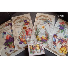 Наборы вафельных полотенец ПАСХА №4 705201046