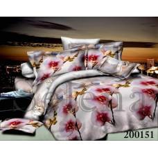 """Комплект постельного белья """"Орхидея 3Д"""" двуспальный 200151-020"""