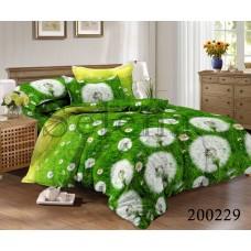 """Комплект постельного белья """"Одуванчики зеленые"""" двуспальный 200229-020"""