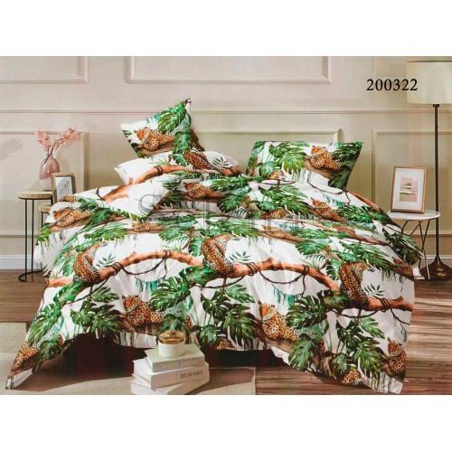 """Комплект постельного белья """"Книга джунглей"""" евростандарт 200322-030"""