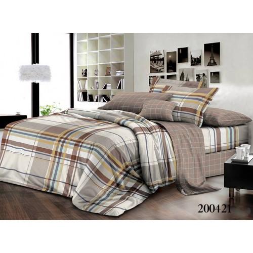 """Комплект постельного белья """"Амаретто"""" двуспальный 200421-020"""