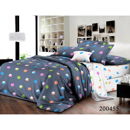 """Комплект постельного белья """"Конфетти"""" двуспальный 200455-020"""
