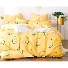 """Комплект постельного белья """"Авокадо желтое"""" двуспальный 200499-020"""