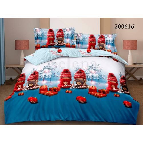 """Комплект постельного белья """"MerryChristmas 2"""" двуспальный 200616-020"""