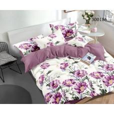 """Комплект постельного белья """"Мак фиолетовый"""" двуспальный 300186-020"""