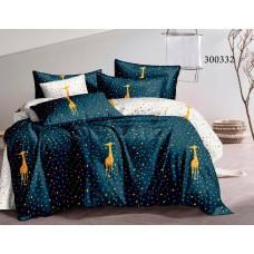 """Комплект постельного белья """"Праздничный жираф"""" полуторный 300332-010"""