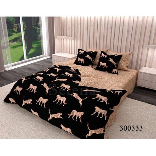"""Комплект постельного белья """"Гепарды """" двуспальный 300333-020"""