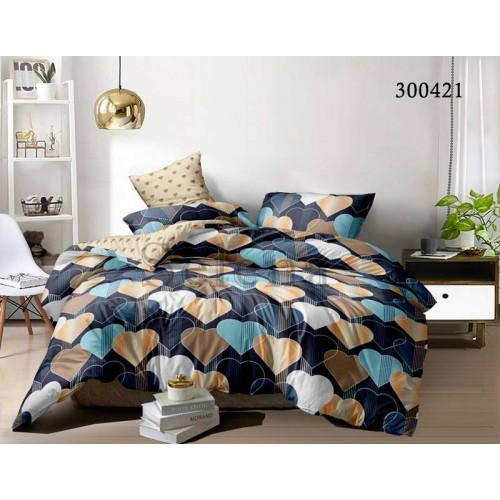 """Комплект постельного белья """"Любовный лабиринт"""" евростандартный 300421-030"""
