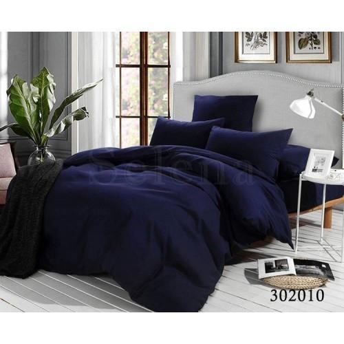 """Комплект постельного белья """"Темно-синий"""" евростандартный 302010-030"""