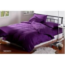 """Комплект постельного белья """"Темно-фиолетовый"""" семейный 302021-050"""