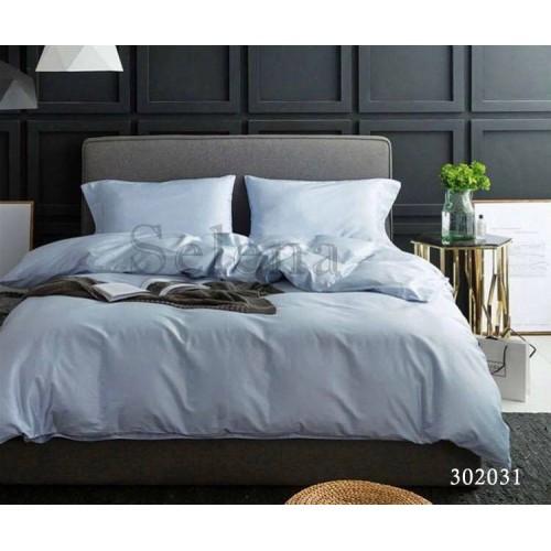 """Комплект постельного белья """"Светло-серый"""" евростандартный 302031-030"""
