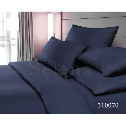 """Комплект постельного белья """"Импреза Синий Stripe"""" евростандартный 310070-030"""