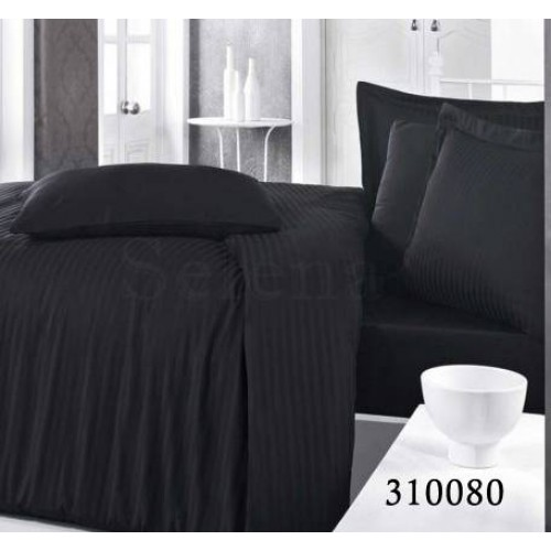 """Комплект постельного белья """"Импреза Black Stripe"""" семейный 310080-050"""